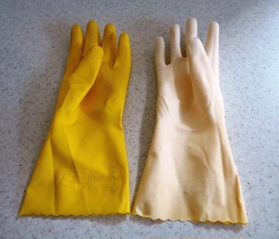 ゴム手袋を完全に使い切る方法