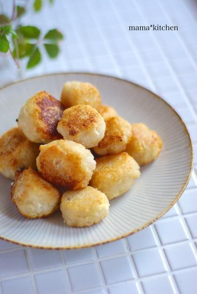 カリカリもっちり♡すりおろし蓮根と豆腐の揚げ団子*妹が初めてパクチーを食べた感想。