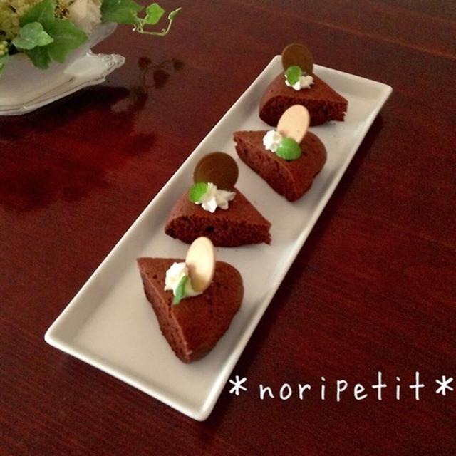 ワンボール♪混ぜて〜炊飯器de簡単♡お豆腐チョコケーキ♡