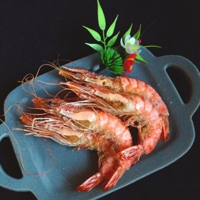 おせちレシピ*海老好きが作る!絶品海老の塩焼き
