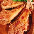 キレイを作る食卓〜ラムチョップのレモンペパーグリル(ハウスのスパイスでお料理上手)〜
