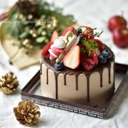 【レシピ】ベリーとチョコレートのクリスマスデコレーション