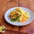 給食で大人気の『もやしのカレー炒め』をカルディのカレーパウダーでちょっと大人っぽく!