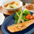 【スパイスアンバサダー】カルダモンでさわやか♪秋鮭のムニエルにんにくバター風味