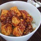 韓国風◆お豆腐のっけご飯