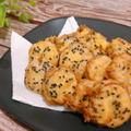 あまーいさつまいものお菓子天ぷら サクサクで美味しい 昭和産業×レシピブログ」