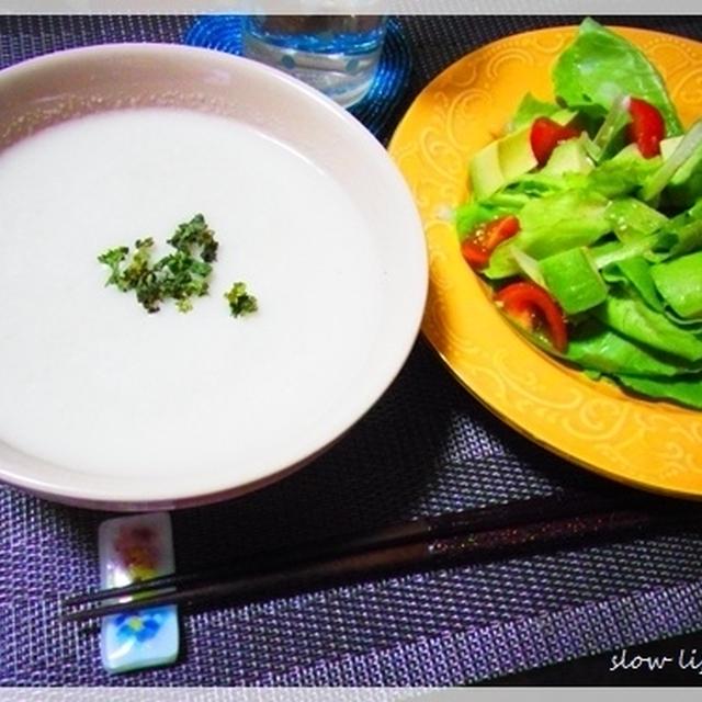 ・・・soup&salad・・・