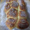 ダッチオーブンで「ホットケーキミックスパン」~