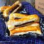 ♡材料3つde超簡単♡丸ごと板チョコスティックパイ♡【#時短#節約#お菓子#スイーツ#冷凍パイシート】