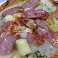 GABAN様がやってきた 朝食編① 春巻きの皮で簡単ピザ風
