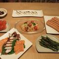 週末おうち居酒屋さん開店☆塩レモンでサーモンマリネレシピ by いちごさん