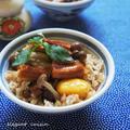 日本の秋が詰まった♪穴子と栗とシメジの秋の炊き込みご飯