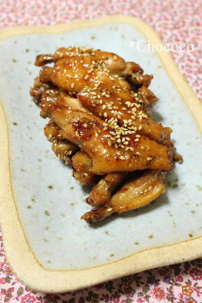 鶏手羽先のオイスター煮込み レシピ