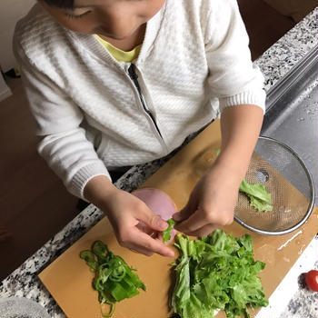 let's cooking◆5歳のお料理お手伝い