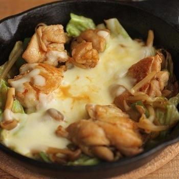 フライパンで♪とろ~りチーズのチーズタッカルビ