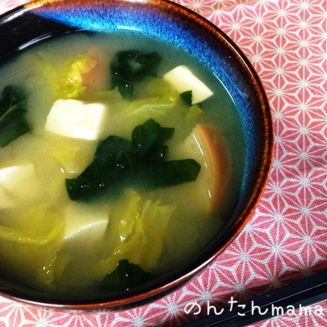【超基本】美味しいお味噌汁の作り方