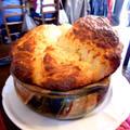 Blue Cheese Roquefort Soufflé  ブルーチーズのスフレ