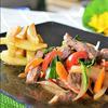 ロモ・サルタード(牛肉と野菜の炒めもの)