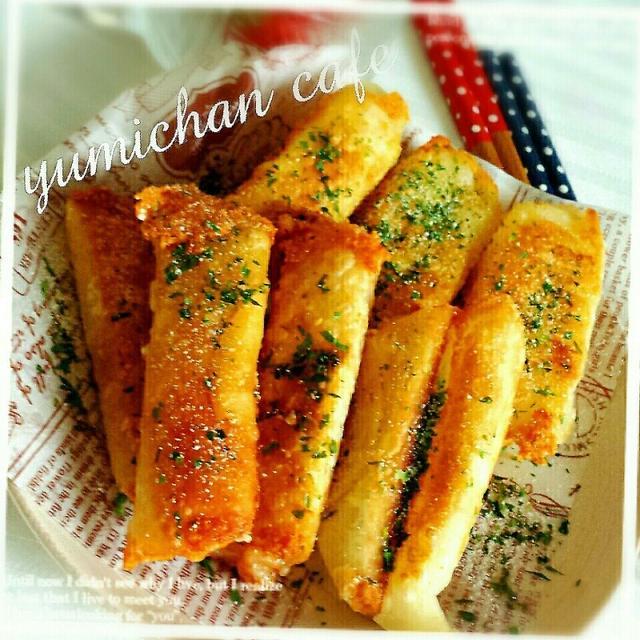 ♡餃子の皮deチーズはんぺん&チーズカニかま揚げの作り方♡
