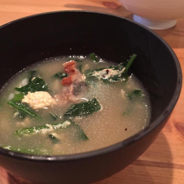鰻卵スープ