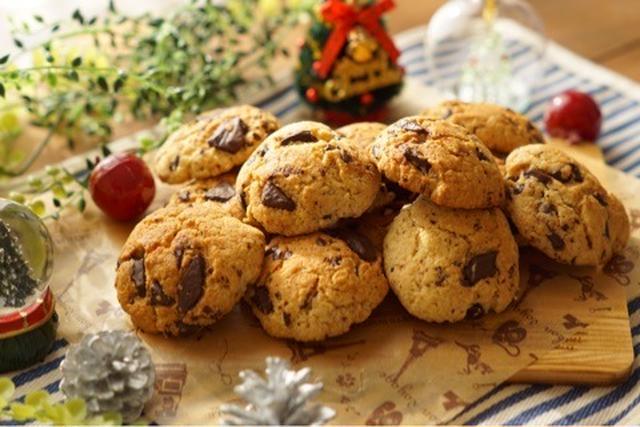 板チョコだけの甘さ控えめクッキー
