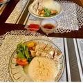 Jan.19.Sunday.୨୧炊飯器でシンガポールチキンライス(レシピ)
