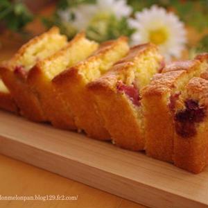 甘酸っぱさにやみつき♪「いちごのパウンドケーキ」5選