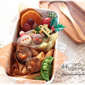 ☆キャラ弁☆クリスマスのお弁当♪