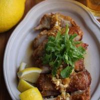 レモン風味の油淋鶏(ユーリンチー)