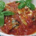 チーズでコク出し♪ 水不使用☆ さんまのイタリアンなトマト煮  by 花ぴーさん