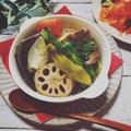 料理教室☆きまぐれランチ♪2018.1だし昆布で♬冬野菜のポトフ