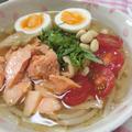 超簡単☆ 野菜たっぷり冷麺風おかずスープ