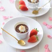 ペパーミントマシュマロチョコレートムース