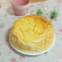 最高のスフレチーズケーキ