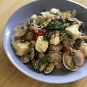 高野豆腐ときのこのポルトガル風煮込み