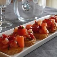 【レッスンメニュー追加】自家製セミドライトマトのブルスケッタ