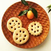 れんこんクッキー《レモンガナッシュサンドクッキー》