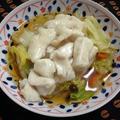 <とぅるとぅる(ツルツル)水晶鶏と野菜のうま煮>