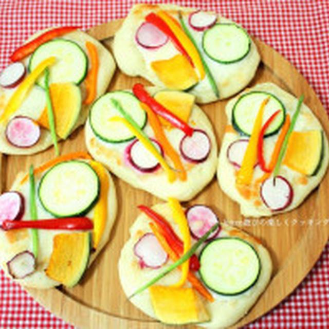 発酵なしの30分で作れる♪夏野菜のフォッカッチャ