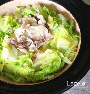 味付けなし♪超シンプルで美味しい!白菜豚肉しょうが鍋