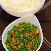 麻婆豆腐風キーマカレー