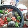 花咲ガニと鮭の塩ブラックペパー鍋