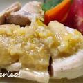 フライパンで簡単!しっとり。鶏肉の塩レモンソース