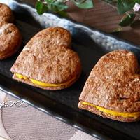 ☆プルーンココアクッキーのスイートかぼちゃサンド☆