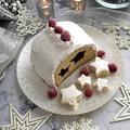 お子様と一緒に~♪パンで作るクリスマスケーキ