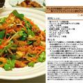 干しえびの旨味たっぷりナンプラードレッシングでいただく青パパイアとクレソンと人参のアジアン風サラダ サラダ料理 -Recipe No.1168- by *nob*さん