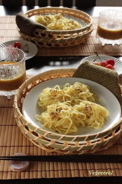 カレーつけ麺☆ と ひしお味噌