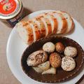 くらしのアンテナで掲載【さば缶とマッシュルームで米油のアヒージョ】 by とまとママさん