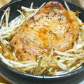 サッと焼くだけ〜超簡単ご飯のおかず!牡蠣だし醤油のポークステーキ。
