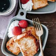 気合いを入れる朝は計画的に手抜き!甘さ控えめフレンチトーストご飯